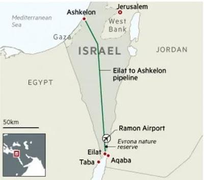Israeli pipeline company EAPC