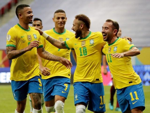 مباراة البرازيل ضد  البيرو  تصفيات كاس العالم