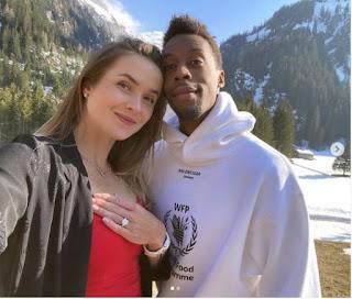 Elina Svitolina Boyfriend Ga C ABl Monfils Getting Engaged