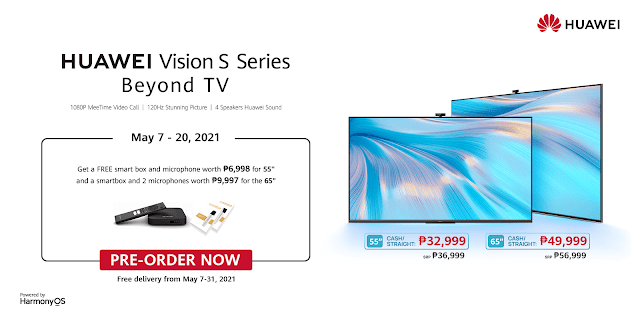 Huawei Vision S Promo Gizmo Manila