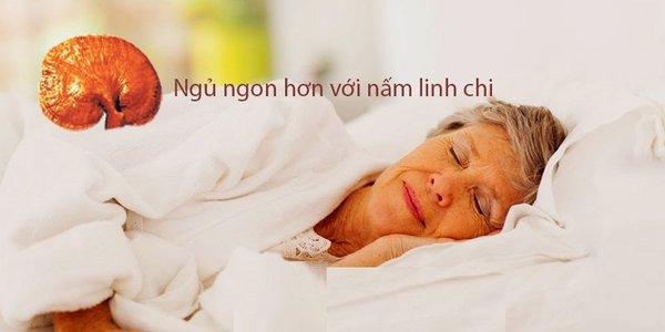 Chữa trị bệnh mất ngủ với nấm linh chi.