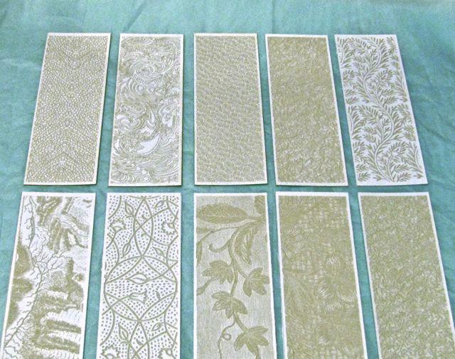 Laser Cut Card Blanks