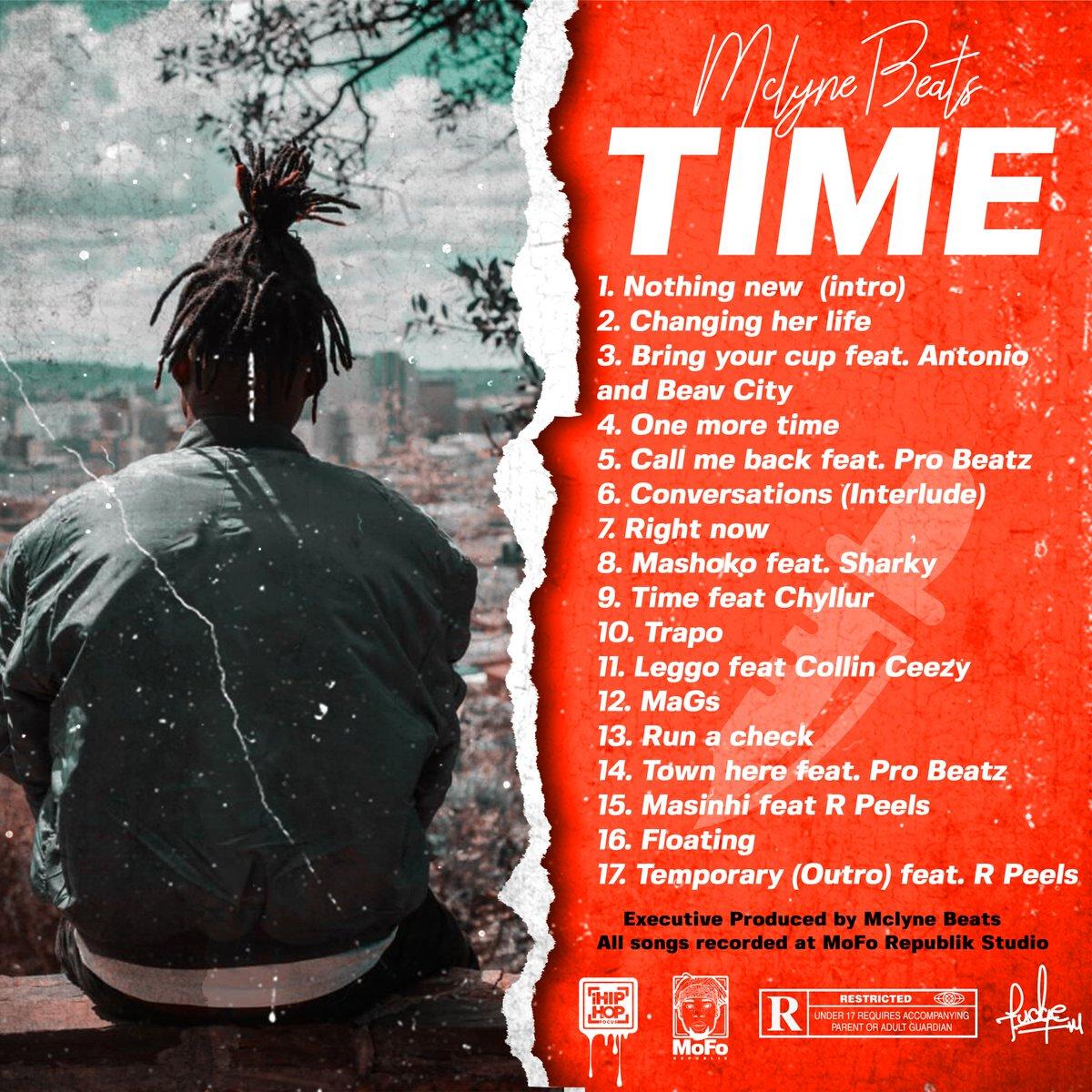 Mclyne Beats - TIME tracklist