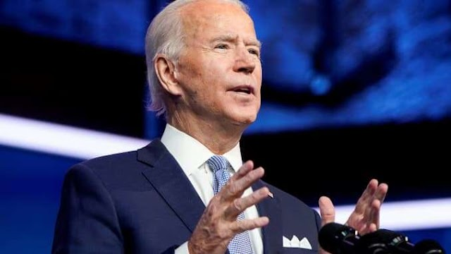 "Joe Biden believes in international cooperation instead of ""let's go it alone"" policy"