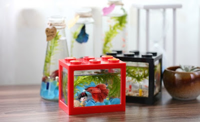 Lego Brick Shape Aquarium Tanks 2