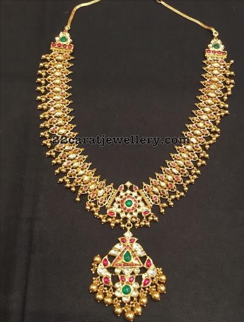 Kundan Necklace Medium Size