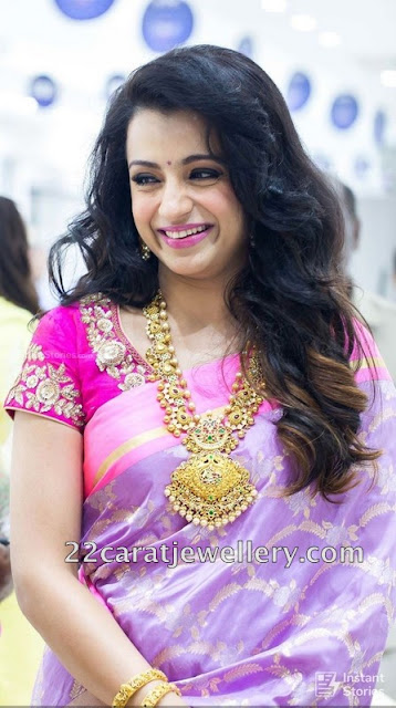 Trisha Layers Antique Haram Sets