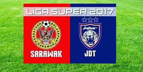 Keputusan Sarawak Vs JDT 28 Februari 2017
