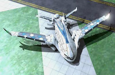 máy bay điện của hãng công nghệ Tây Ban Nha AWWA-QG