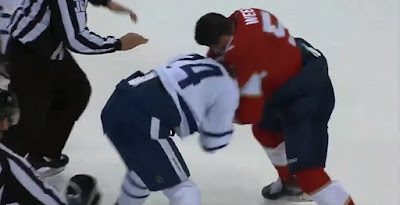 hockey nhl fight panthers leafs