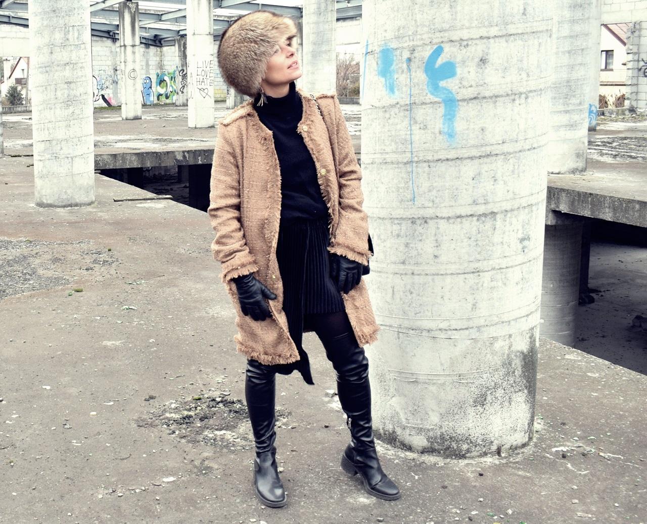 0dea3fdf792c5 Zimowa stylizacja w klimacie Chanel | matki, żony i singielki..styl ...
