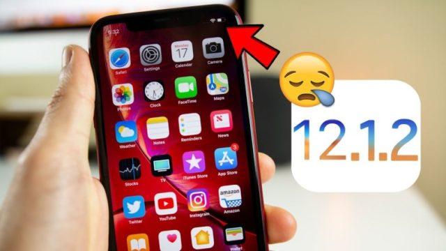 iOS 12.1.2 Wi-fi Sorunu