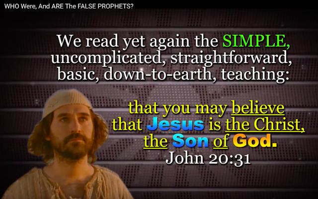 John 20:31.