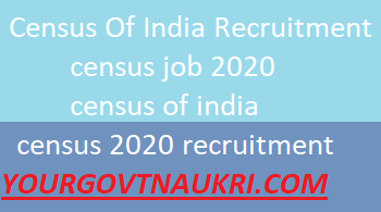 Census Recruitment 2020