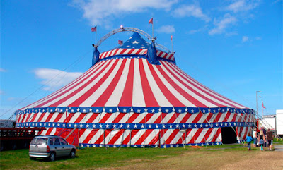 sirk çadırı neden yuvarlak