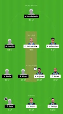 BTC vs HCC Dream11 team prediction | FPL 2020