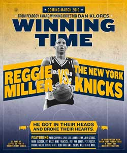 30 for 30 Winning Time Reggie Miller vs The New York Knicks (1969)