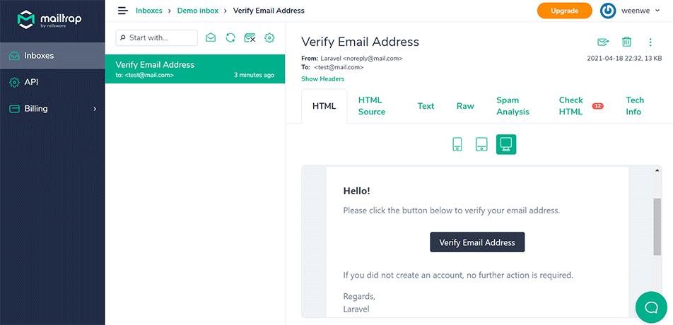 Membuat Verifikasi Email dan Reset Password di Laravel 8