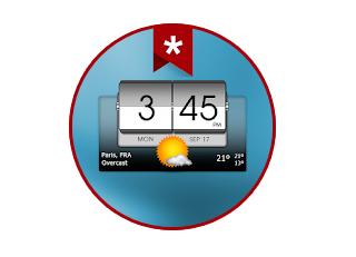 3D Flip Clock & Weather (Ad-free) Apk Free Download