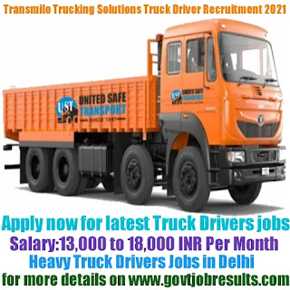 Transmilo Trucking Solutions Heavy Truck Driver Recruitment 2021-22