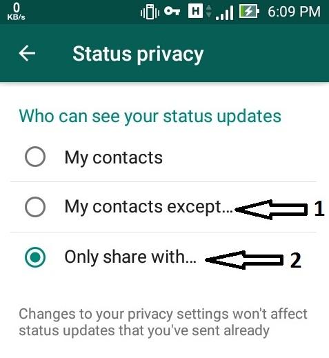 Cara Mudah Sembunyikan Status Story Wa Dari Orang Lain Dekjoko Com