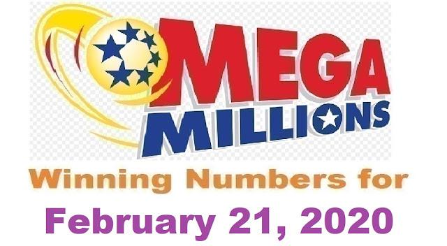 Mega Millions Winning Numbers for Friday, February 21, 2020