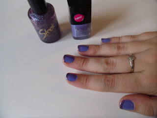 Mua nail polish - purple nails - review - purple nail art