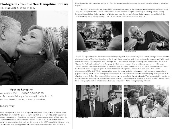 The Frozen Smile: Photographs From The New Hampshire Primary