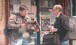 Los espías rusos Richard Murphy y Christopher Metsos captados por el FBI en una reunión