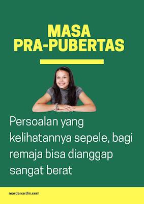 Masa pra-pubertas