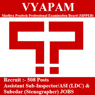 Madhya Pradesh Professional Examination Board, MPPEB, VYAPAM, VYAPAM Answer Key, Answer Key, vyapam logo