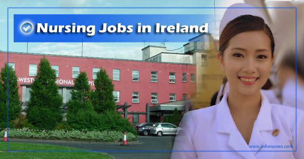 Gov't hospital in Ireland hiring Staff Nurses, monthly salary up to