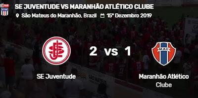 Juventude-MA vence Maranhão