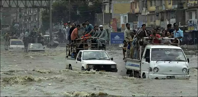 Rain in Karachi: 10 people lost their lives in three days