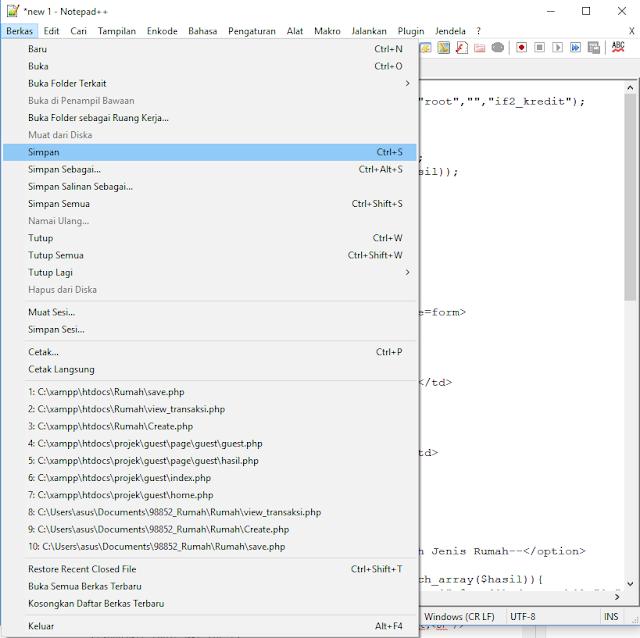 cara buat program simpan dan tampil php dasar ! full dengan penjelasannya !