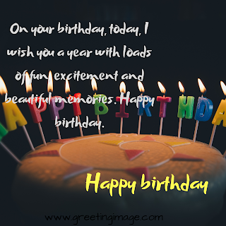 Birthday Images with quotes
