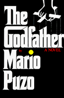 The Godfather book cover by Mario Puzo