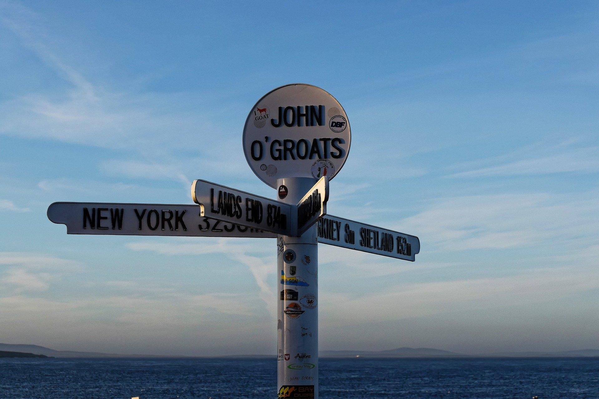 john ogroats lands end