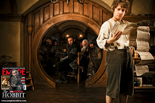 Martin Freeman as Bilbo - Hobbit Movie