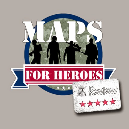 Frugal GM Review: Maps For Heroes Fundraiser Campaign