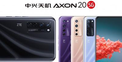 Spesifikasi ZTE Axon 20 5G