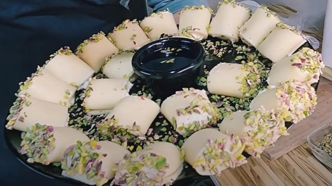 طريقة عمل حلاوة الجبن بالصور خطوة بخطوة
