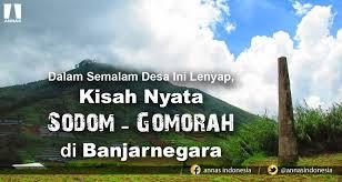 Dalam Semalam Desa Ini Lenyap, Kisah Nyata Sodom-Gomorah di Banjarnegara