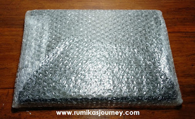 packing bubble wrap album photobook ID Photobook