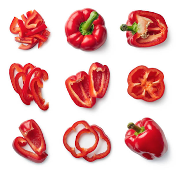 5 Kegunaan Paprika Merah
