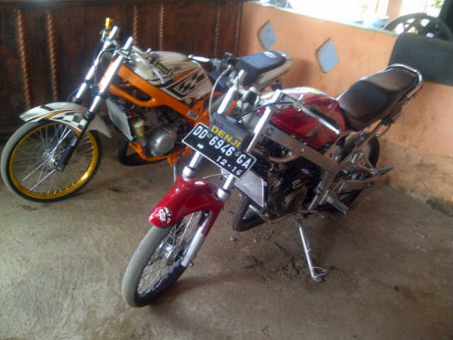 Gambar Motor Ninja r drag