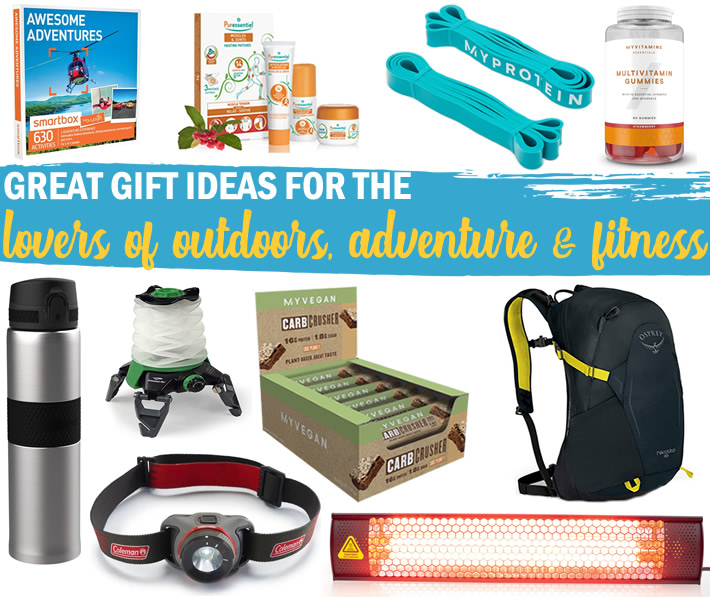 Christmas Gift Guide for Outdoor and Fitness Enthusiasts