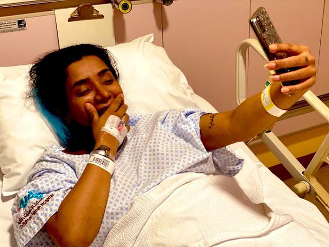 محمد سلامة زوج مروة سالم يسخر من صورتها بعد الولادة