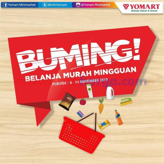 Katalog Promo YOMART 15 - 21 November 2019