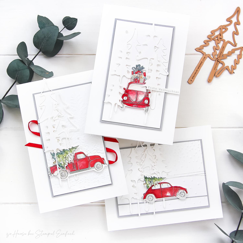 Weihnachtskarten-Auto Rapport-Alexandra Renke